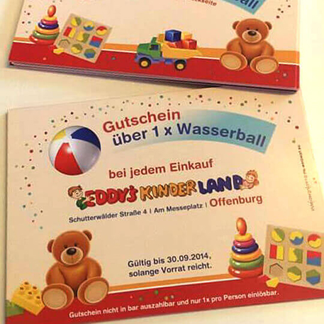 Eddy´s Kinderland | Flyer | Gestaltung & Druck