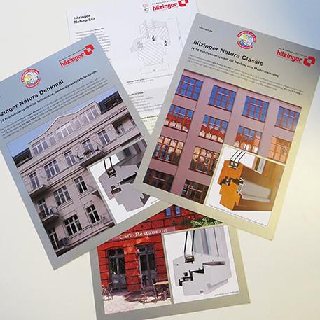 Hilzinger GmbH | Flyer | Druck