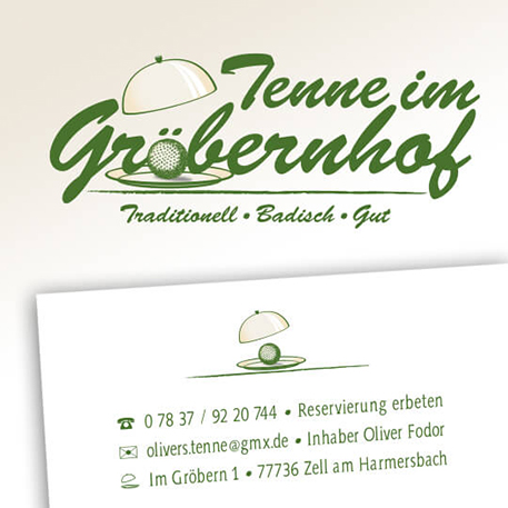 Tenne im Gröbernhof | Logodesign & Geschäftsausstattung | Gestaltung & Druck